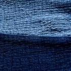 SASHIKO DROP OUT PANTS BLUE -SIZE XL