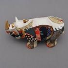 Wooden dolls,dolls,rhinoceros, ornaments,Albrecht Dürer print blocks,homage,Tokyo,Japan,Traditional craftwork,handmade,souvenir, gift,A