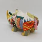 Wooden dolls,dolls,rhinoceros, ornaments,Albrecht Dürer print blocks,homage,Tokyo,Japan,Traditional craftwork,handmade,souvenir, gift,C